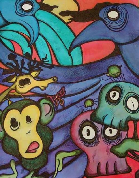 art by Meghan Clarkston