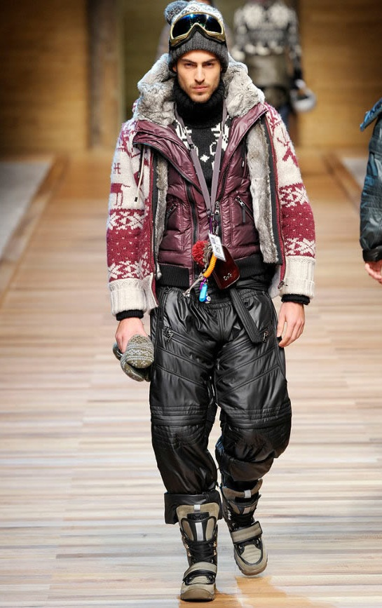 Dolce & Gabanna unveiled Vagabond Chic influenced Milan's Men Fashion Week