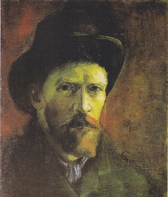 Van Gogh In A Cool Hat