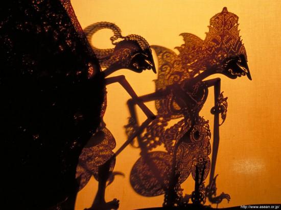 Javanese Wayung puppet