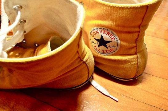 Meghan Clarkston's converse shoes