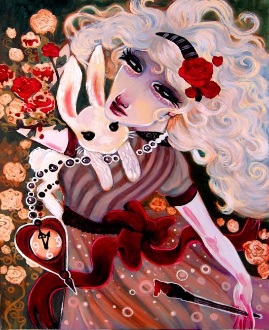 painting by Natasha Wescoat art