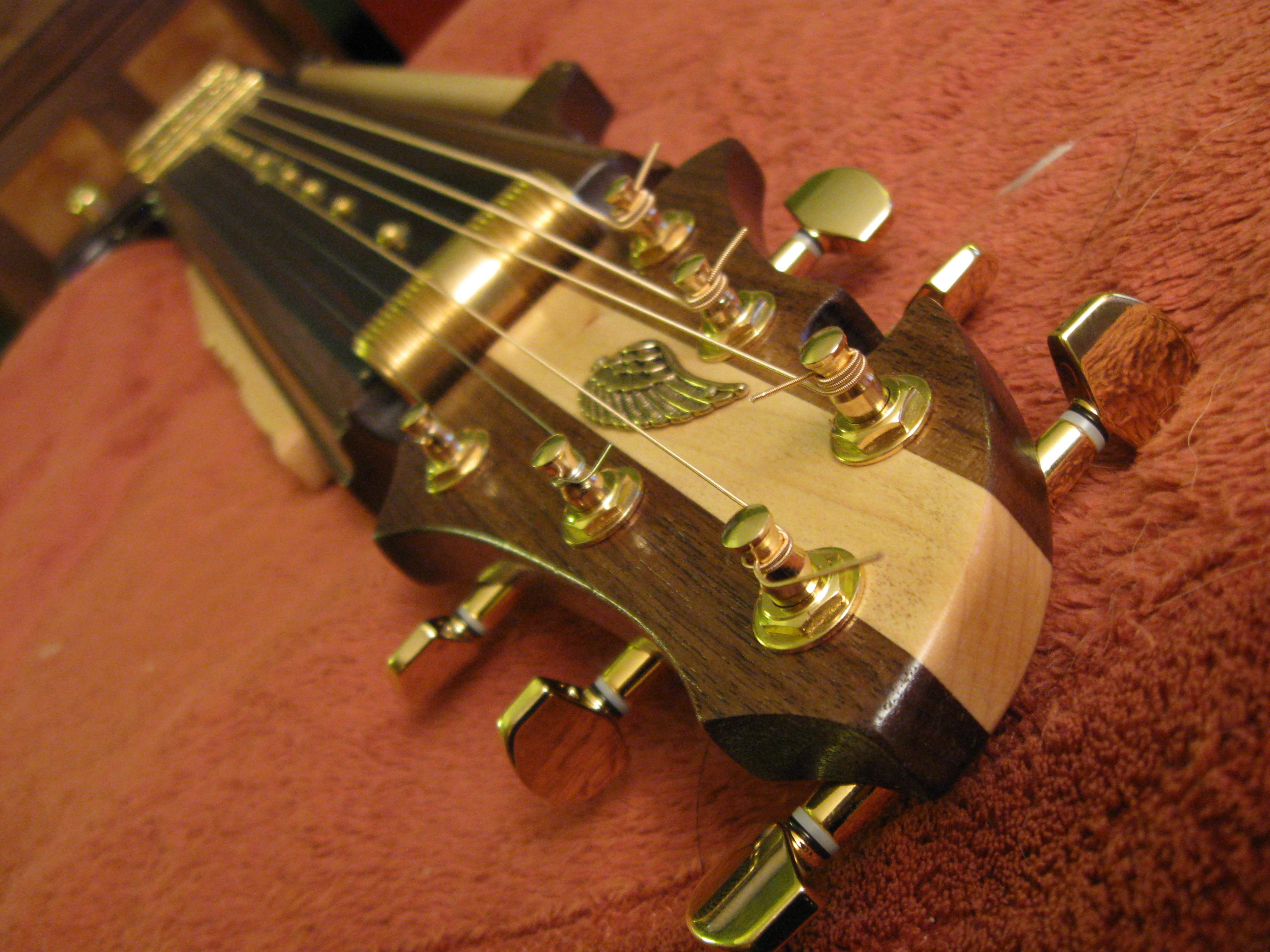 Kyle Miller's steampunk guitar