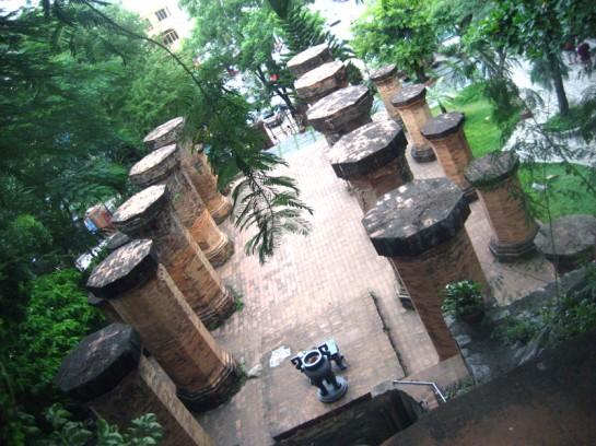 Po Nagar Towers Vietnam columns
