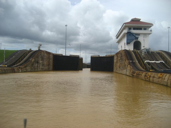 Pedro Miguel Lock at the panama canal