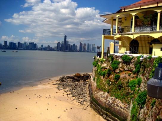 Casco Viejo seaside beach and hotel