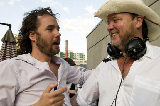BBS leader Kevin Drew and filmmaker Bruce McDonald