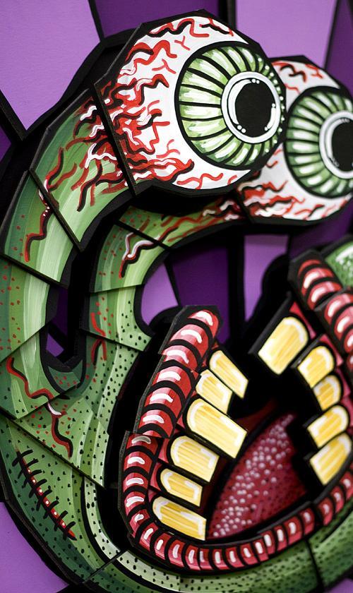 artwork of DUSTIN DIRT! eyes alien