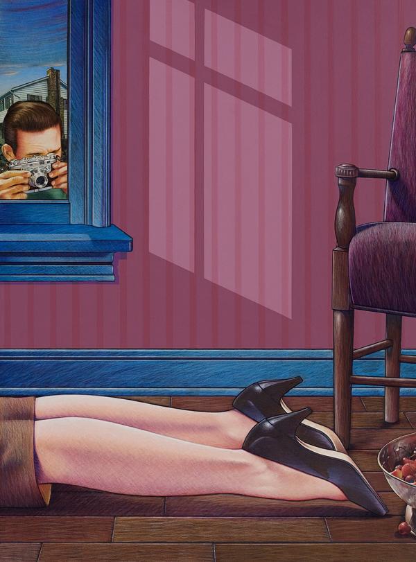 Crime Scene - Art By Doug Smock