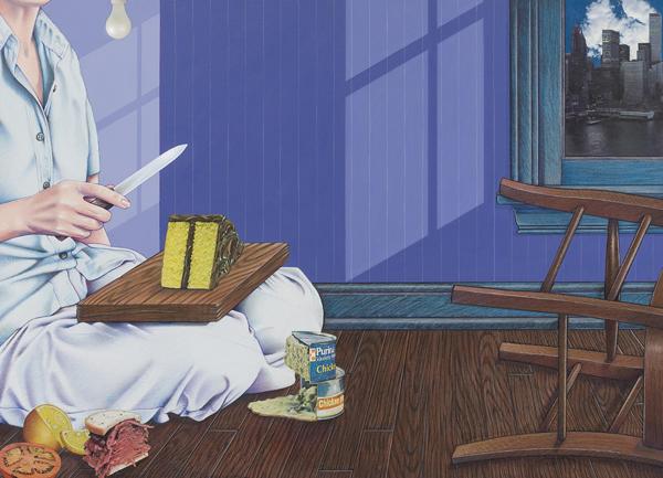 Domestic Scene - Art By Doug Smock