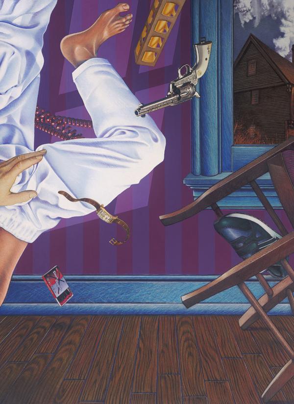 Rope Broke, Used Gum - Art By Doug Smock