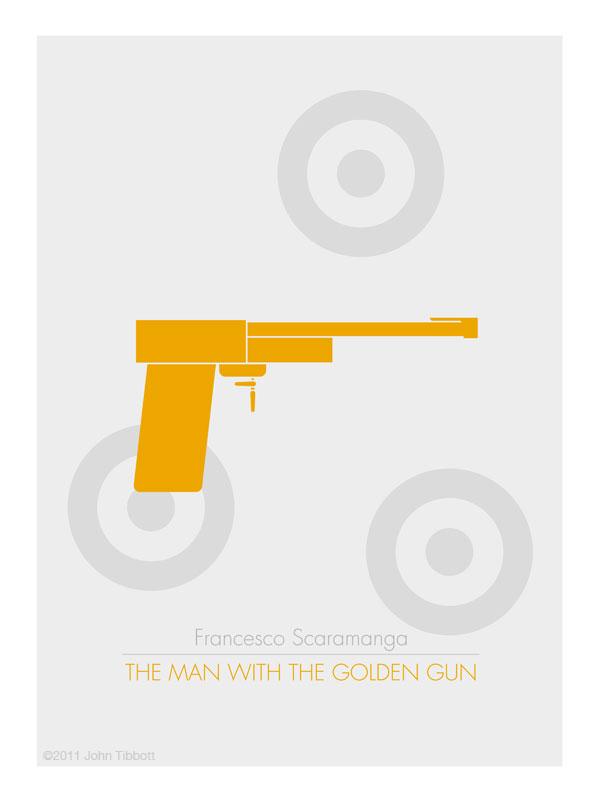 The Man With The Golden Gun - by John Tibbot