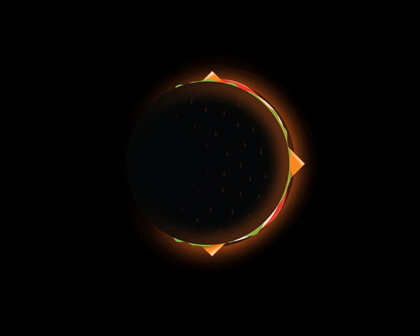 Burger Eclipse - By David Schwen