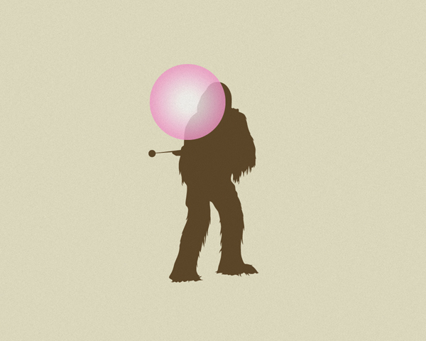 Chewi Chewing Bubble Gum - By David Schwen
