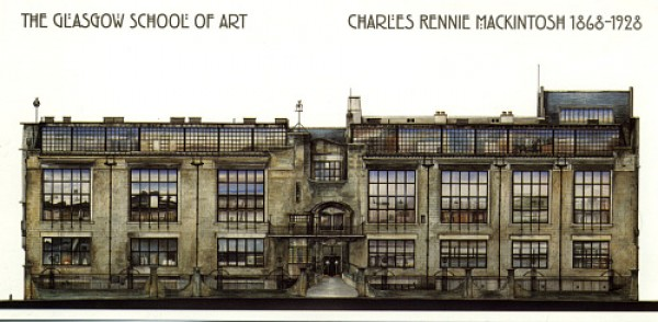 Glasgow Scotland architecture school of art