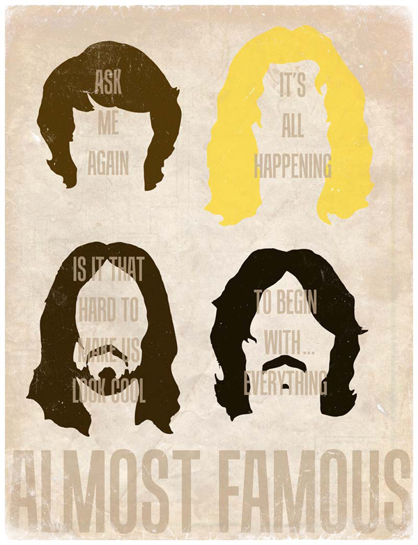 Almost Famous - Illustration by Derek Eads
