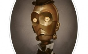 Greg Peltz - Steampunk C-3PO