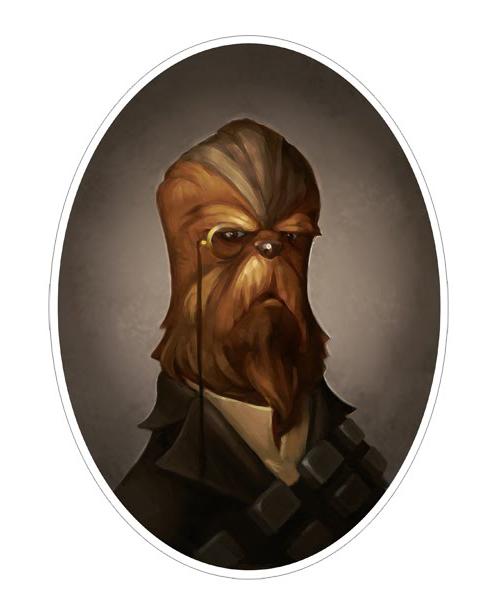 Greg Peltz - Steampunk Chewbacca