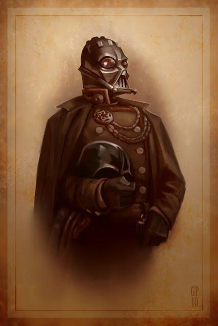 Greg Peltz - Steampunk Darth Vader