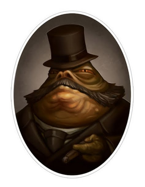 Greg Peltz - Steampunk Jabba The Hutt