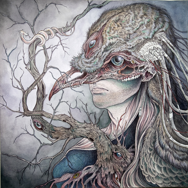 Ivan Ives Illustration - Art by Caitlin Hackett