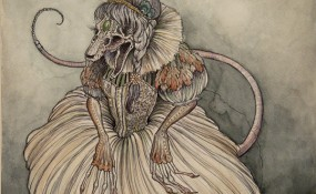 Mus Masquerade - Art by Caitlin Hackett