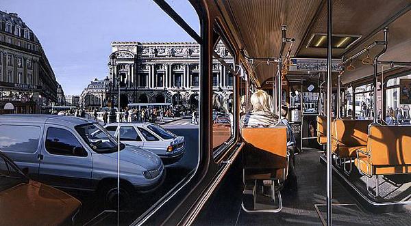 Paris Opera House - by Richard Estes
