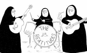 """""""Beatitudes"""" by Alborozo"""