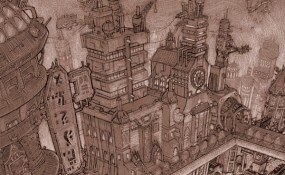 Solrison - Steampunk Art by Chris Miscik