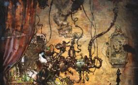 Steampunk Queen Victoria - Steampunk Art by Chris Miscik