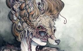 Vulpes Masquerade - Art by Caitlin Hackett