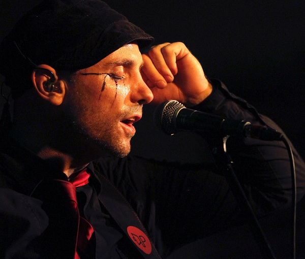 The Parlotones lead singer Kahn Morbee