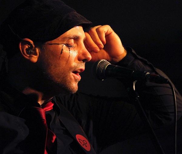The Parlotones lead singer Kahn Morbee