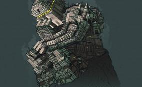 Le Penseur - Art By VINTZ
