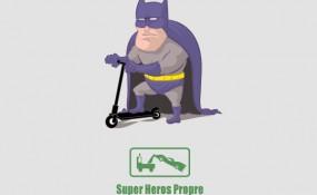 Super Heros Propre - Art By VINTZ