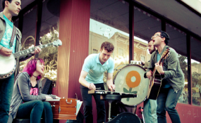 Freelance Whales live music performance in Vancouver