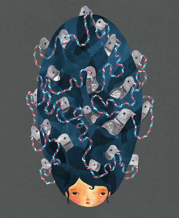 Bird Hair - Paul Vizzari