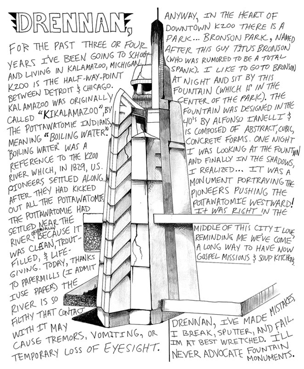 Bronson - Art by Christopher Darling