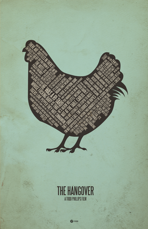 The Hangover - 37 Posters by Jerod Gibson