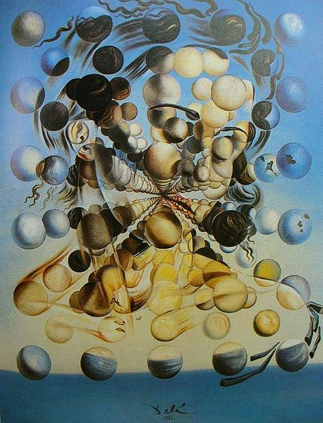 Galatea of the Spheres by Salvador Dali (1952)