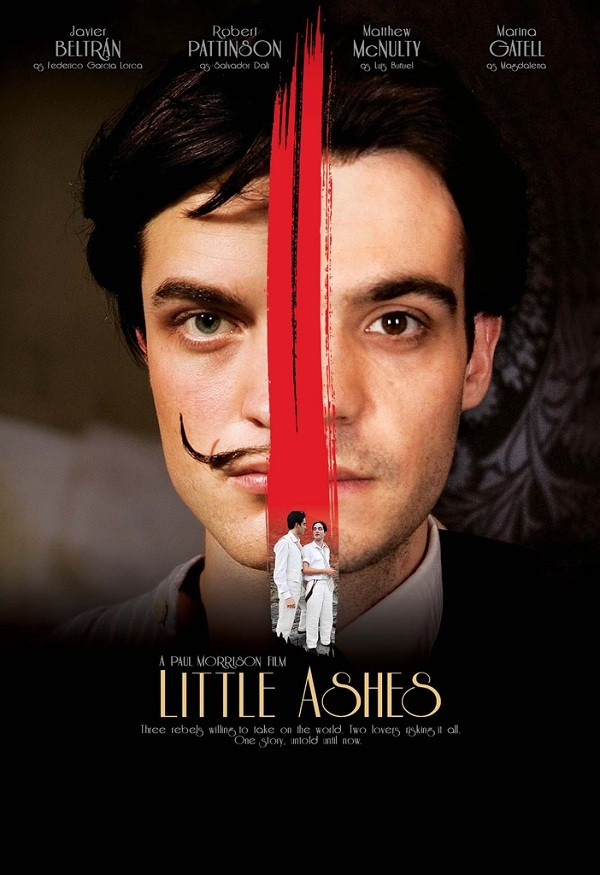 Little Ashes (flim poster) starring Robert Pattinson