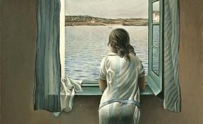 Salvador Dali's woman at the window (1925)