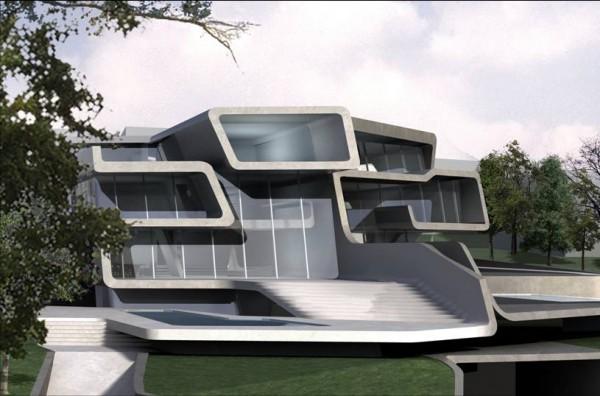 Kuesnacht villa artist rendering