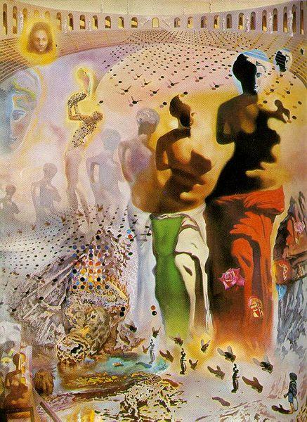 The Hallucinogenic Toreador by Salvador Dali (1970)
