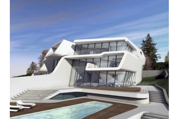 Zaha Hadid Kusnacht Villa