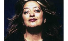 Zaha Hadid Portrait by Steve Double