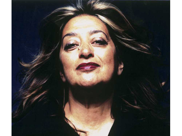 Zaha Hadid Portrait by Steve Double