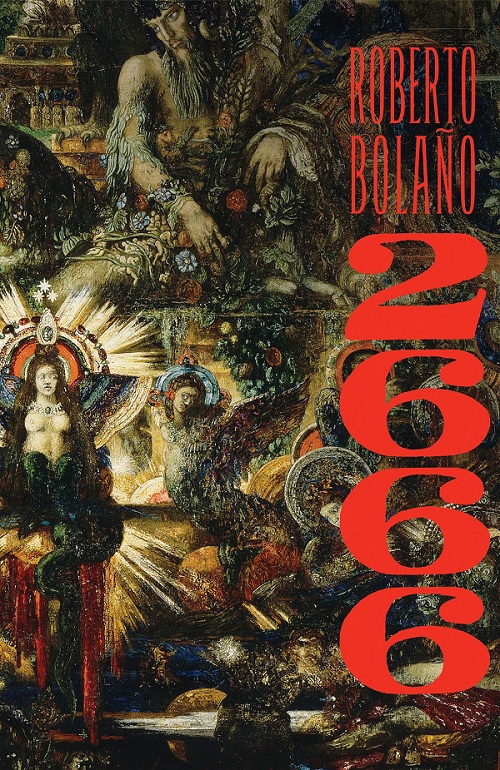 cover art for Roberto Bolano's novel 2666 (literature)