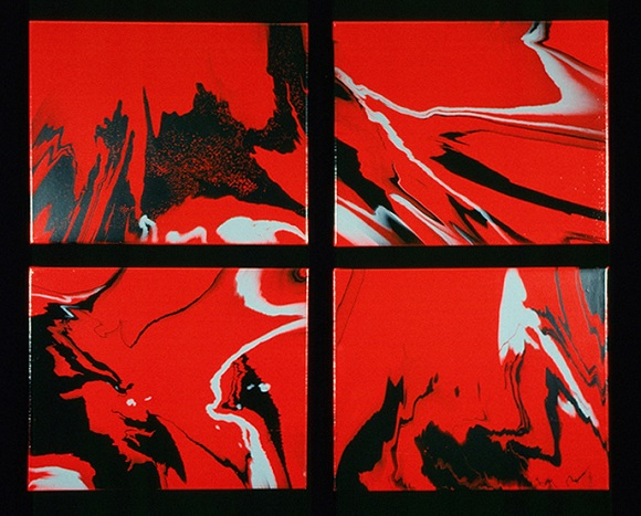 a work by David Phillips is a Los Angeles-based painter, digital, video artist