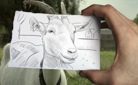 Art Shots: Pencil vs. Camera by Ben Heine